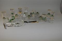 Gläser mit Gaststättenaufdruck I