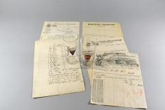 Briefbogen im Wandel der Zeit, von 1903 - 1940