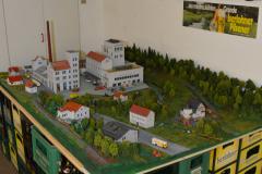 Modell der Brauerei, Ende der 1950er Jahre, Maßstab 1:87