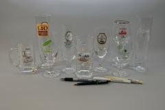 Gläser mit Gaststättenaufdruck II