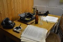 Eine erste Schreibmaschine als Arbeitsgerät