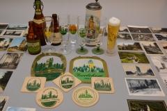 Überall: Auf Gläsern, Krügen, Etiketten, Biedeckeln...
