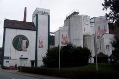 Altes, neues Danzturm-Logo am Sudhaus