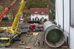 Die letzten großen Lagertanks werden demontiert